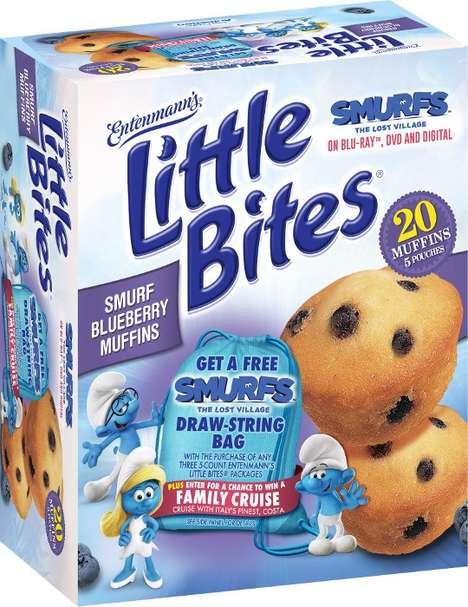 Branded Cartoon Muffins