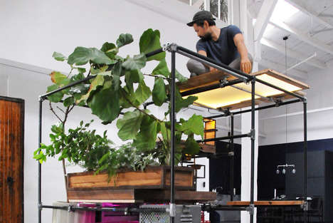 Open-Sourced Living Habitats - Huy Bui's Survivalist Installation 'Beyond 0' is Self-Sustaining