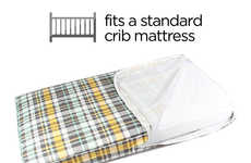 Crib-Sized Dog Bed Covers - Molly Mutt's 'crib-e' Turns Used Baby Beds into a Mattress for Dogs