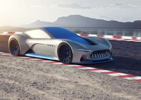 VR-Enabled Sportscars - The Autonomous Maserati Genesi Concept Lets Drivers Explore a Virtual World