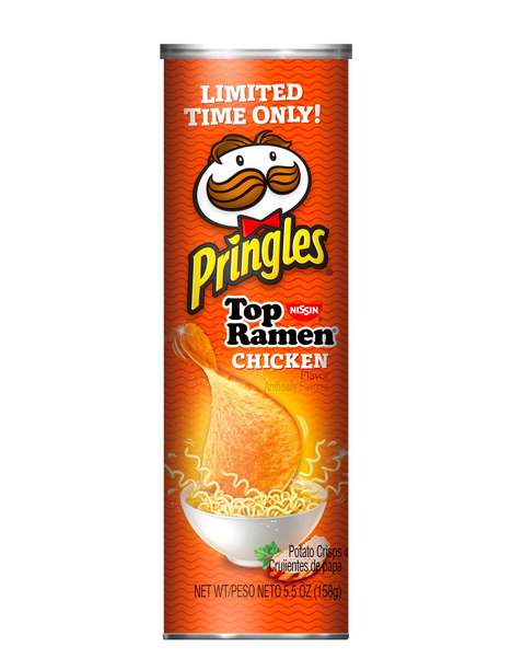 Ramen-Flavored Chips - The New Ramen-Flavored Pringles are Irresistibly Delicious