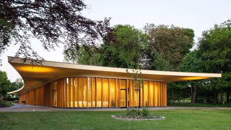 Modernist Estate Pavilions - The St. Gerlachus Pavilion is on an Historic 17th Estate in Holland
