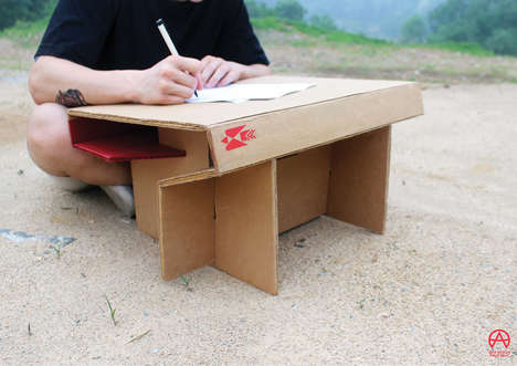 HaYoung Lee Created This Portable Desk for India's Street Kids