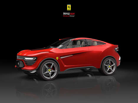 Secretive Italian Automaker SUVs - Ferrari F16X is the Code Name for the Brand's First-Ever SUV