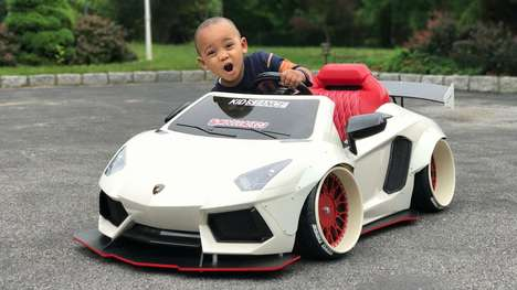 Extremely Customized Kids Cars - KidStance Ride-on Cars Bring Stance Culture to Pre-School