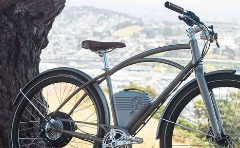 Antique-Inspired Electric Bikes