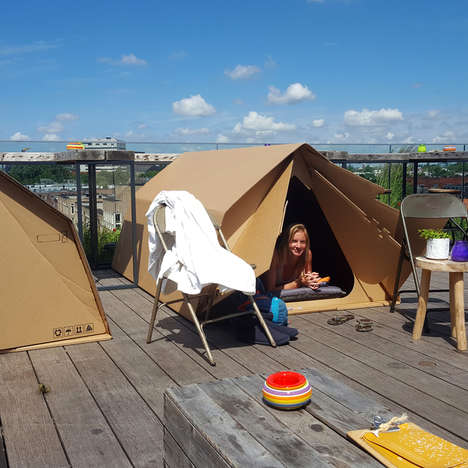 Urban Camping Services - Campspace Lets Users Rent Campgrounds in Urban Environments
