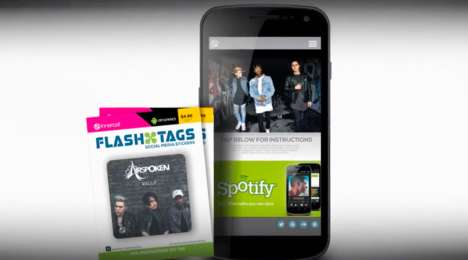 Musical Band Collectibles - Airspoken's Band Merchandise Helps Fans Instantly Access Digital Content