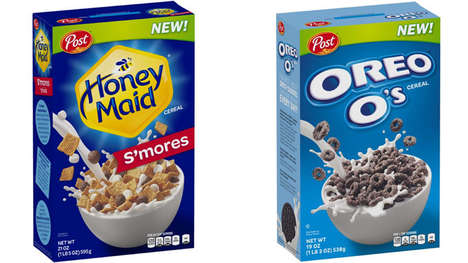 Dessert-Inspired Breakfast Cereals - These Post Cereals Bring Back a Retro Flavor and a New Option