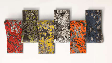 Lichen-Like Carpeting - Mohawk Group Has Created a Collection of Lichen Carpeting Inspired by Nature