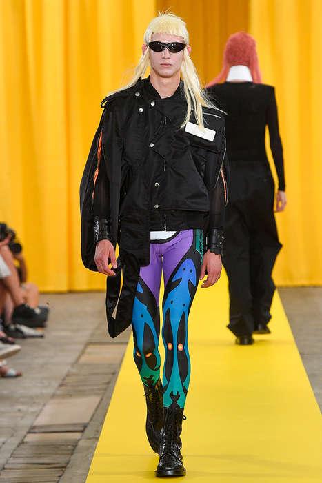 Futuristic Glam Rock Menswear