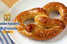 Ready-to-Bake Soft Pretzels - Consumers Can Bake Auntie Anne's Soft Pretzels at Home