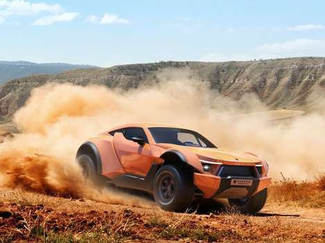 Desert-Dominating Sportscars - The Zarooq Motors SandRacer 500GT is Built for the Track and Dunes