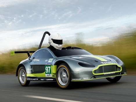 Luxury British Soapbox Racers - This Aston Martin Soapbox Racer is Based on the V8 Vantage GTE