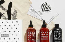 Brooklyn-Made Honey Sauces - The Bushwick Kitchen Honeys and Sauces are Handcrafted and Gluten-Free