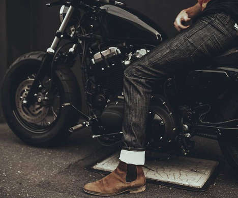 Abrasion-Resistant Biker Jeans - The Saint Unbreakable Motorcycle Jeans Stylishly Protect Riders