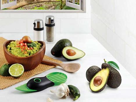 Multi-Use Avocado Slicers