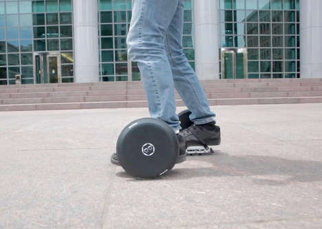 Last Mile Skate Scooters - The 'Blizwheel' Operates for Up to an Hour at 15mph