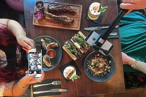 Social Media Restaurant Kits - 'Dirty Bones' is Providing Guests with 'Foodie Instagram Packs'