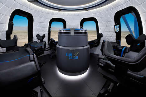 Simulated Space Trips - Blue Origin Commercial Space Company is Offering Simulated Rides