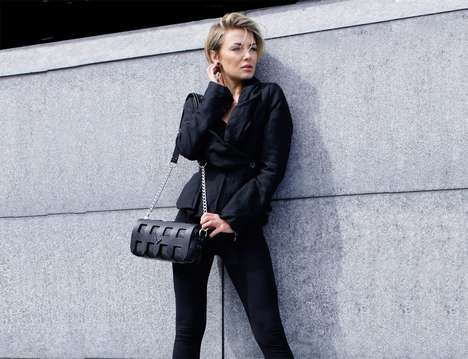 Interchangeable Component Handbags - The Portcullis Leather Handbags Let Ladies Switch Up the Look