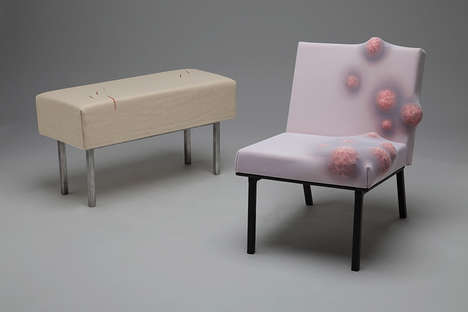 Anatomically Imperfect Furniture - The 'Appalstered Collection' is Full of Lumps and Bumps