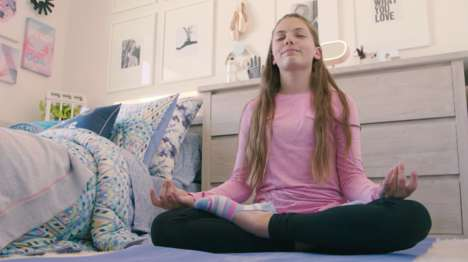 Active Teen Decor - Lululemon's ivivva Brand and PBteen Collaborated on Teen Home Decor