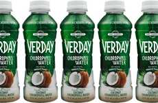 Supercharged Hydration Waters - The Verday Coconut Chlorophyll Waters Contain No Calories