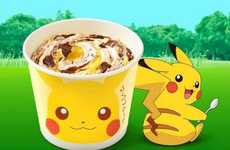 Anime-Themed Ice Cream - McDonald's Japan is Releasing a Pikachu-Themed McFlurry