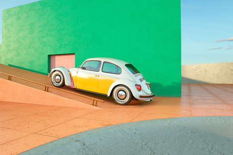 Psychadellic Car Films - Chris Labrooy's 'Cut & Shut' is a Moving Image Homage to Volkswagen Icons
