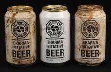 TV Prop Beers - The Dharma Initiative Beer Found in 'Lost' is Up For Auction