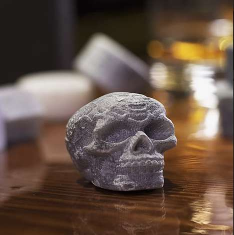 Handcrafted Drink Coolers - These Soapstone Whiskey Stones Keep Drinks Cooler for Longer