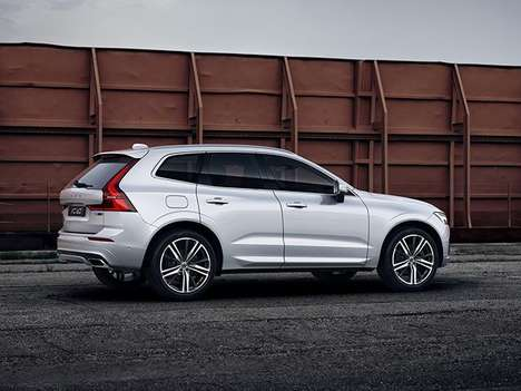Subtly Sport Hybrid SUVs - The 400-hp Volvo XC60 Polestar is Designed for Practical Performance