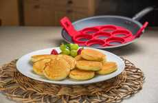 Quick-Flip Breakfast Makers - The 'Flipping' Fantastic' Pancake Makers Quickly Create Seven Servings