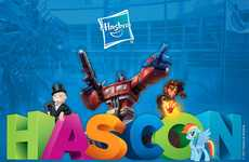 Family Friendly Toy Conventions - The Hasbro HASCON Convention will Feature Popular Toys
