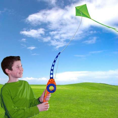 Fishing Pole Kite Kits - The 'Castakite' Simplifies the Process of Flying a Kite for All Ages
