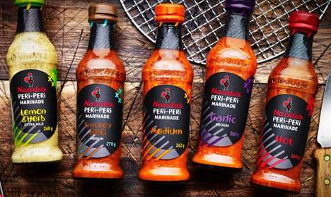 Fast Casual Marinade Products - This Nando's Peri-Peri Marinades is Part of the Brand's CPG Line
