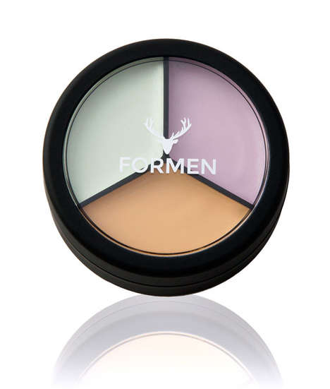 Male-Specific Color Correctors - FORMEN's Under Eye Concealer + PRO Palette Evens and Brightens Skin