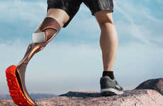 Hike-Enabling Prosthetic Legs - The 'Hierex' Prosthetic Leg Concept Enables Amputees to Hike