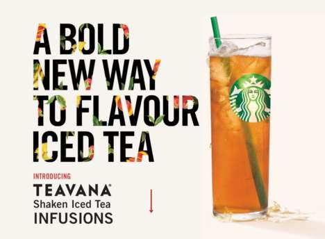 Infused Iced Tea Giveaways - Starbucks is Giving Away Its New Teavana Shaken Iced Teas This Friday