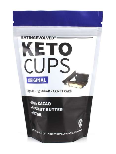 Ketogenic Chocolate Cups