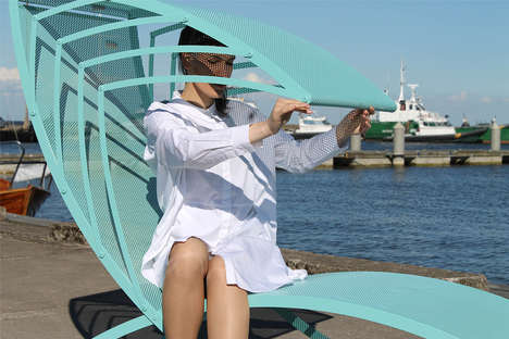 Adjustable Roofed Loungers - 'Ipanema' Furniture Helps Create a Private and Calming Space