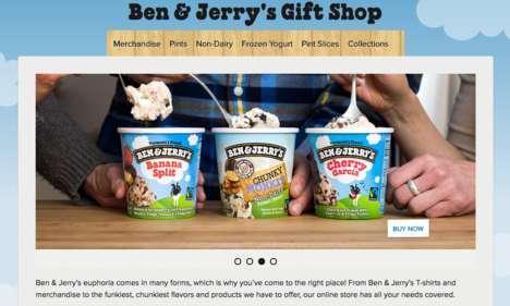 Branded Ice Cream E-Shops