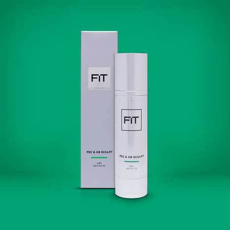 Men's Body-Sculpting Creams - The FIT Pec & Ab Sculpt Creme Makes Users' Skin Appear More Toned