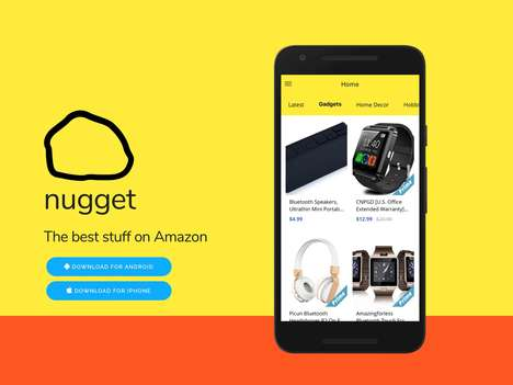 Curated eCommerce Apps - The 'Nugget' App Helps You Find the Best Stuff on Amazon
