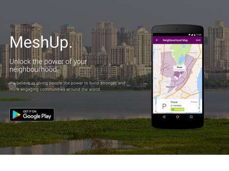 Local Neighborhood Social Networks - 'MeshUp' Lets Users Connect with Others Who Live Nearby