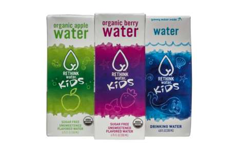 Kid-Focused Flavored Waters