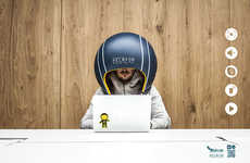 Noise-Cancelling Helmets - The Helmfon Helps People Who Work in Open-Concept Offices