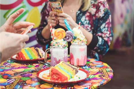 Gaming App Pop-Up Cafes - The Candy Crush Cafe Was Hosted Over a Two-Day Period in London