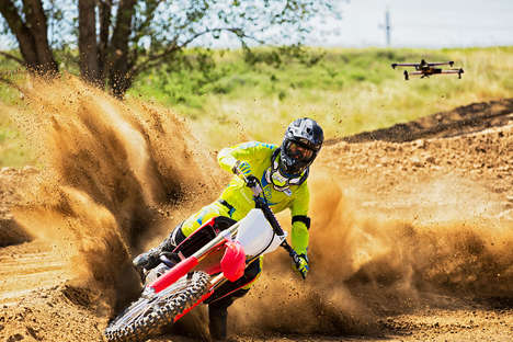 Extreme Sports Drones - The Airdog 2 is Designed for Photographing and Filming Extreme Sports